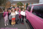 Pink limo Louth