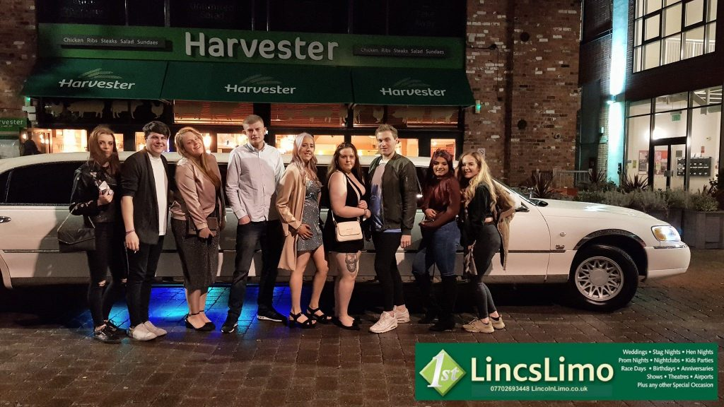 Birthday Party Limo Lincolnshire 1st Lincs Limo Wedding Cars
