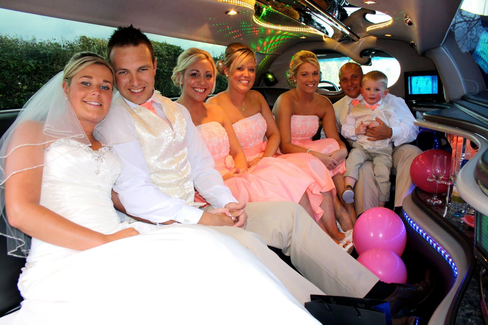 8 passenger Limo